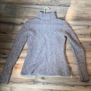 Brown Cozy Turtleneck Sweater